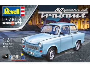 Revell Trabant 601S 60 Years of Trabant Model Set 1:24 07777