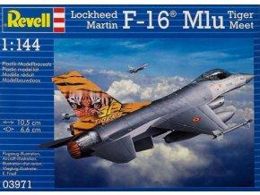 Revell letadlo F-16 Mlu TigerMeet 1:144 03971