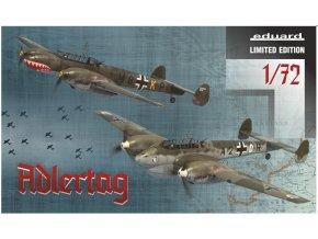 Eduard Adlertag Bf 110C/D 1:72 2132