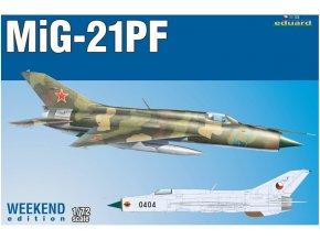 Eduard Mig-21 PF 1:72 7455