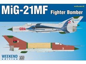 Eduard MiG-21MF Fighter-Bomber 1:72 7451