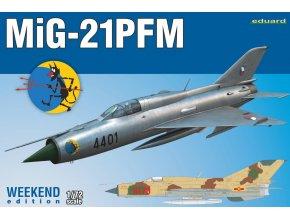 Eduard MiG-21PFM 1:72 7454