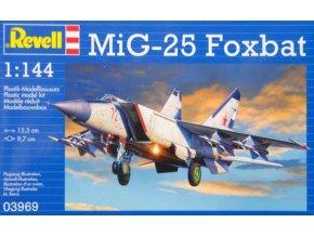 Revell letadlo MiG-25 Foxbat 1:144 03969