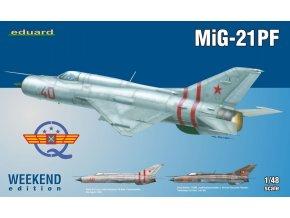 Eduard MiG-21PF 1:48 84127