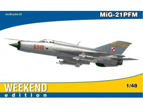 Eduard MiG-21PFM 1:48 84124