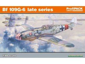 Eduard Bf 109G-6 pozdní série 1:48 82111