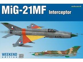 Eduard MiG-21MF Interceptor 1:72 7453