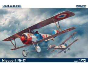 Eduard Nieuport Ni-17 1:72 7404