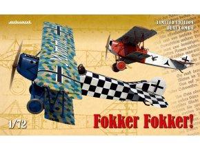 Eduard Fokker Fokker!  Dual Combo 1:72 2133