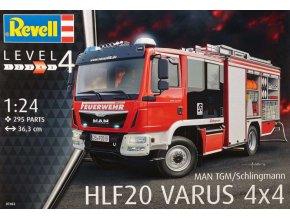 Revell MAN TGM Schlingmann HLF20 VARUS 4x4 1:24 07452