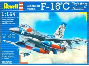 Revell letadlo Lockheed Martin F-16C Fighting Falcon 1:144 03992