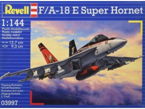 Revell letadlo F/A-18 E Super Hornet 1:144 03997