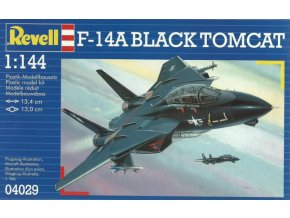 Revell letadlo F-14A Tomcat Black Bunny 1:144 04029