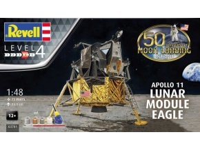 Revell Apollo 11 Lunar Module Eagle (50 Years Moon Landing) 1:48 03701