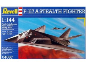 Revell letadlo F-117 Stealth Fighter 1:144 04037