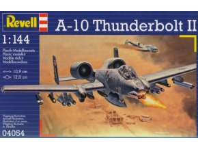Revell letadlo A-10A Thunderbolt II 1:144 04054