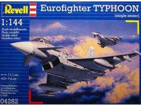 Revell letadlo Eurofighter TYPHOON 1:144 04282