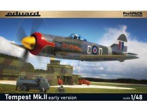 Eduard Tempest Mk. II raná verze 1:48 82124