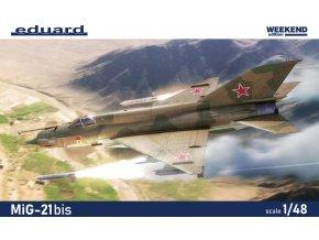 Eduard MiG-21bis 1:48 84130