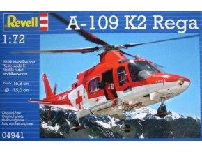 Revell vrtulník Agusta A-109 K2 Rega 1:72 04941