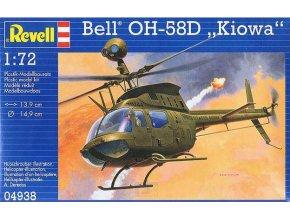 Revell vrtulník Bell OH-58D Kiowa 1:72 04938