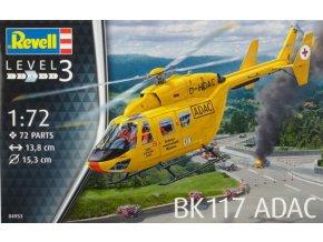 Revell vrtulník Bk-117 ADAC 1:72 04953