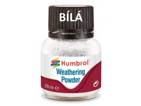 Humbrol Weathering Powder White - pigment pro efekty 28ml AV0002