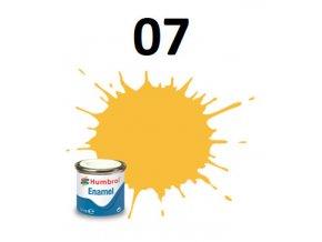 Humbrol barva emailová 07 Light Buff - Gloss