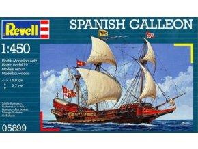 Revell loď Spanish Galleon 1:450 05899