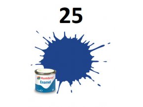 Humbrol barva emailová 25 Blue - Matt