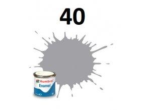 Humbrol barva emailová 40 Pale Grey - Gloss