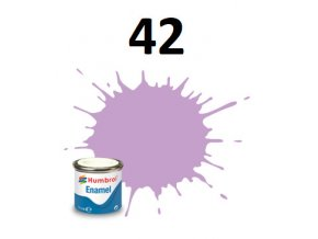 Humbrol barva emailová 42 Violet Matt