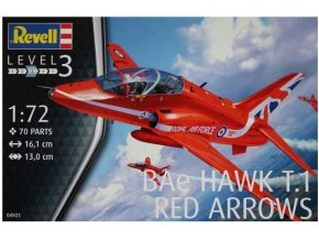 Revell letadlo BAe Hawk T.1 Red Arrows 1:72 04921