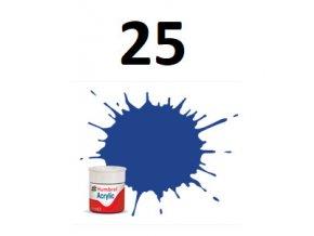 Humbrol barva akryl 25 Blue - Matt
