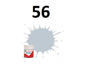 Humbrol barva akryl 56 Aluminium - Metallic