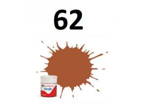 Humbrol barva akryl 62 Leather - Matt