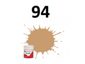 Humbrol barva akryl 94 Brown Yellow - Matt