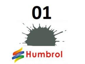 Humbrol barva (01) emailová, akrylová, sprej (GREY PRIMER - MATT, ZÁKLADNÍ BARVA)