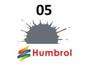 Humbrol barva (05) emailová Dark Ad Grey - Gloss
