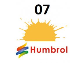 Humbrol barva (07) emailová Light Buff - Gloss