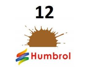 Humbrol barva (12) emailová, akrylová Copper - Metallic