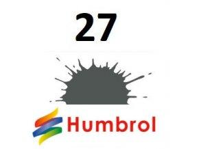 Humbrol barva (27) emailová, akrylová, sprej Sea Grey - Matt