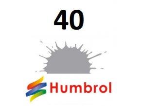 Humbrol barva (40) emailová, akryl Pale Grey - Gloss