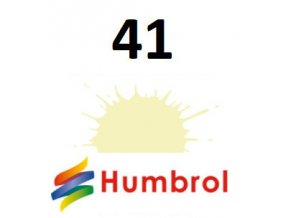 Humbrol barva (41) emailová, akryl Ivory - Gloss