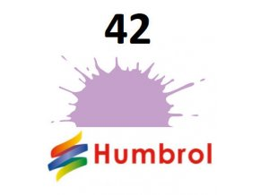 Humbrol barva (42) emailová violet - matt