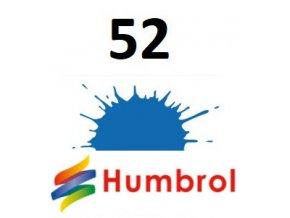 Humbrol barva (52) emailová, akryl, spej Baltic Blue - Metallic