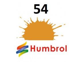 Humbrol barva (54) emailová, spej Brass - Metallic