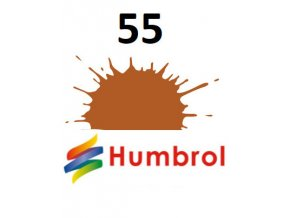 Humbrol barva (55) emailová Bronze - Metallic