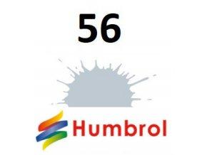 Humbrol barva (56) emailová, akryl, spej Aluminium - Metallic