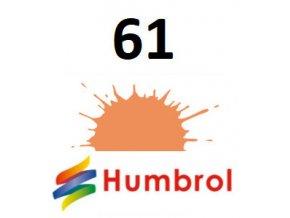 Humbrol barva (61) emailová, akryl Flesh - Matt